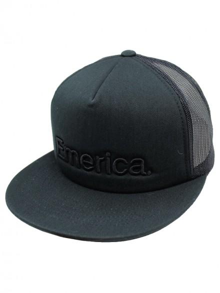 Gorra Emerica Pure Trucker Black