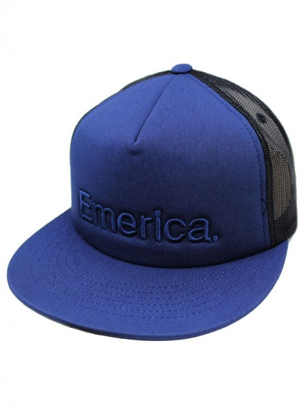 Gorra Emerica Pure Trucker Navy