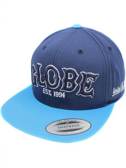 Gorra Globe Hitters Snapback Nvy Blu