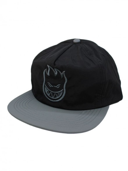 Gorra Spitfire Bighead Unstructured Black Grey