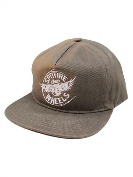 Gorra Spitfire Flying Classic 5 Panel Brown Twill