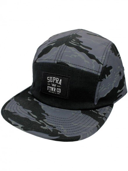 Gorra Supra Centerfield 5 Panel Bcm
