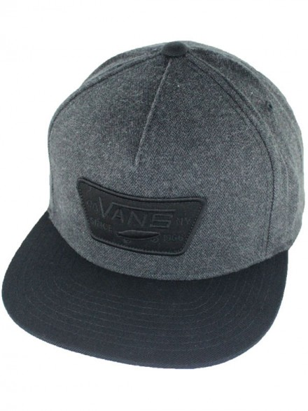 Gorra Vans Full Patch Asphalt Black