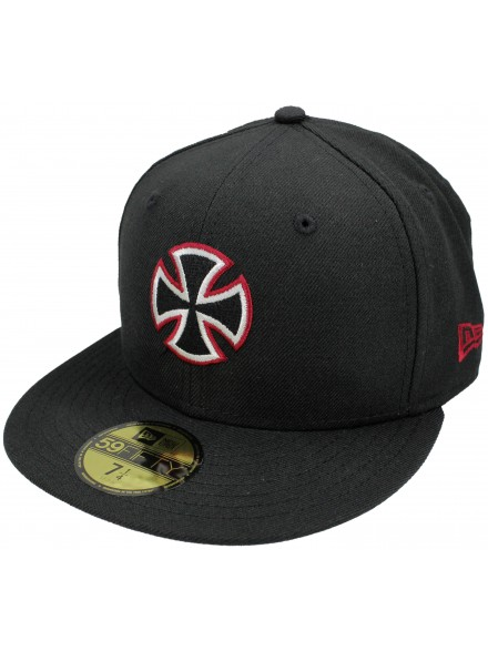 Gorra Independent New Era Unit 59 Fifty Black