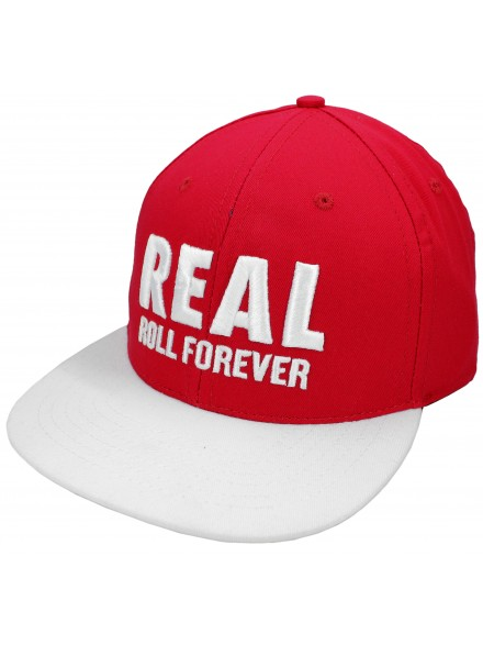 Gorra Real Genuine Snapback Red/White One Size