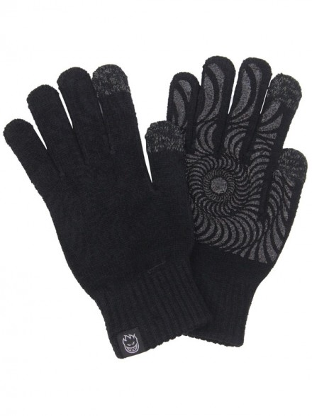 Guantes Spitfire Classic Swirl Touch Black