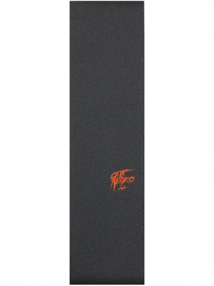 Lija Gato Negro Logo Naranja