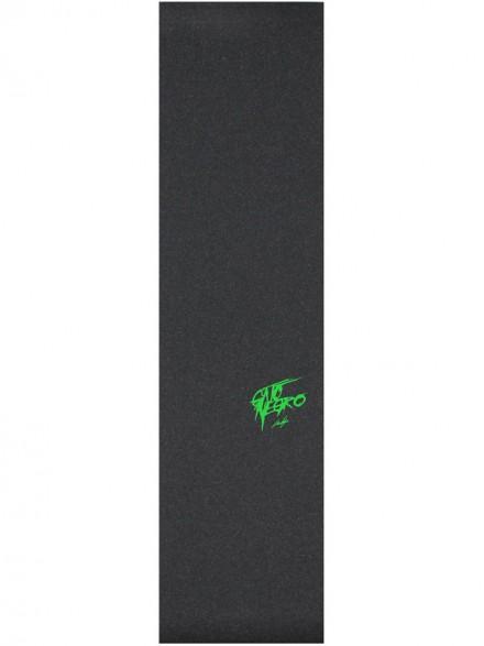 Lija Gato Negro Logo Verde