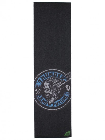 Lija Thunder Mob Grip Leader Screaming Skull Blue