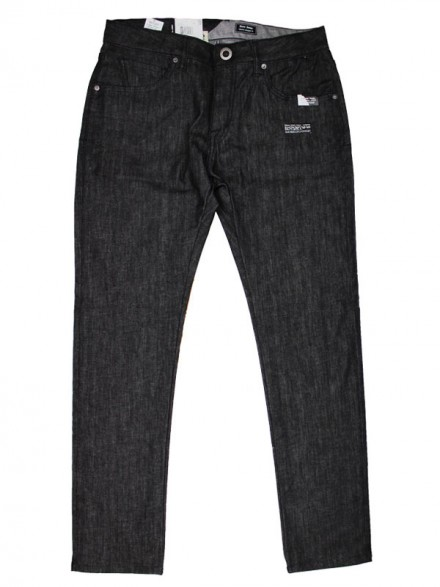 Pantalón Volcom Five Down Black Rinse