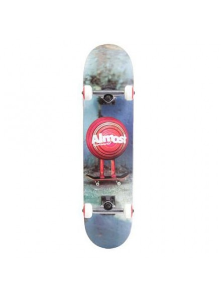 Patineta Completa Almost Mo Wood Night Blue/Red 7.6