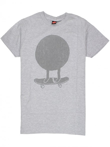 Playera Almost Big Mo Heather Grey