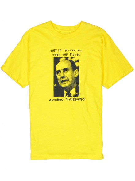 Playera Anti Hero The Fifth Yellow