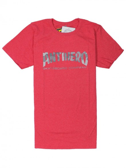 Playera Antihero Skate Co. Slim Red Camo