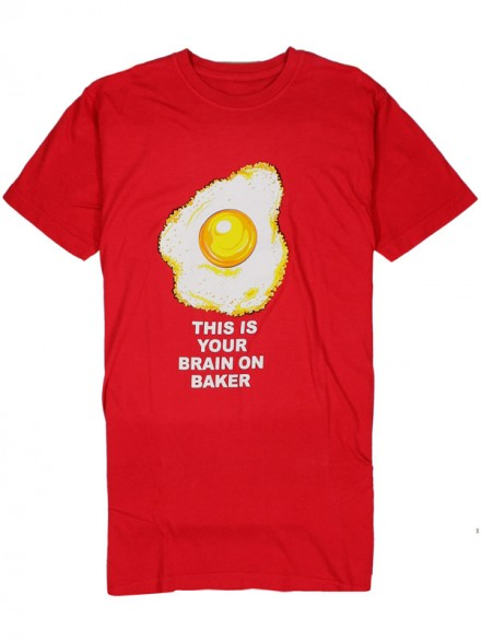 Playera Baker Any Questions Red