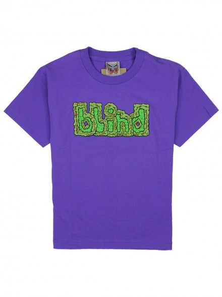 Playera Blind Brain Drain Youth Purple