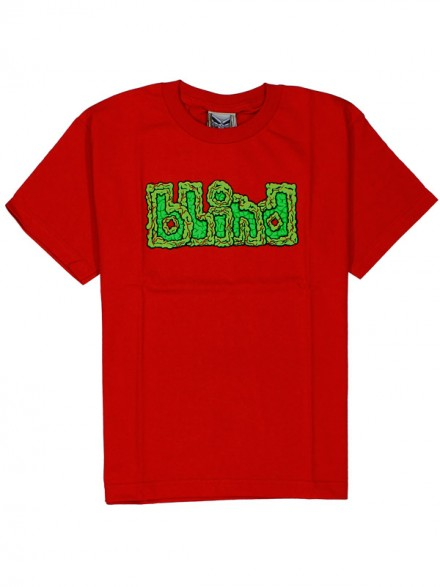 Playera Blind Brain Drain Youth Red
