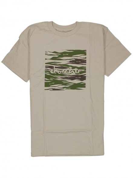 Playera Chocolate Camo Chunk Sand