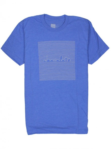 Playera Chocolate Chunk Divison Heather Lake Blu
