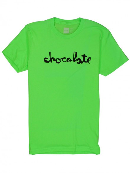 Playera Chocolate Chunk Neon Grn