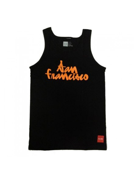 Playera Chocolate Tank Chunk Blk