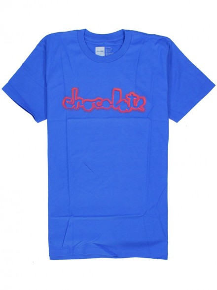 Playera Chocolate Tri Tone Chunk Premium S/S Royal Blue