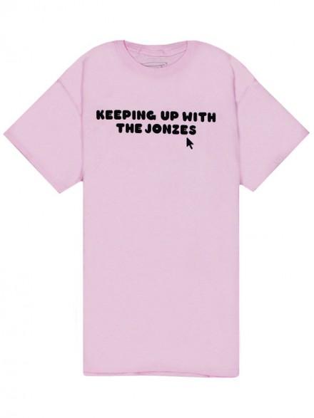 Playera Crailtap Jonzes Motto Pink
