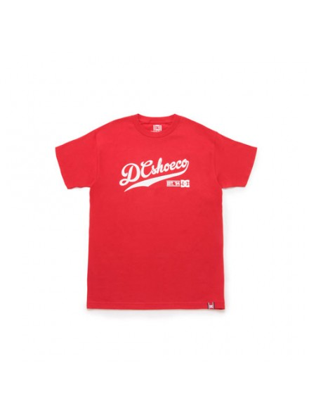 Playera Dc Baseline S/S Red M
