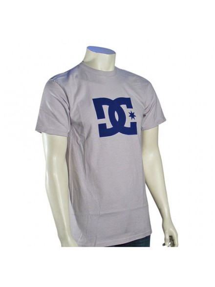 Playera Dc Star S/S Grey M