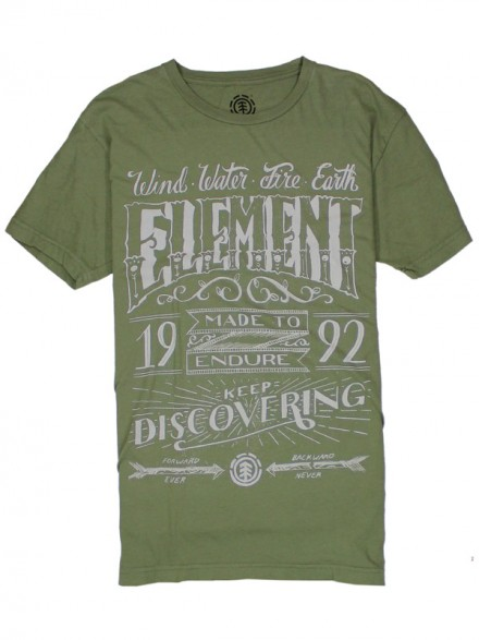 Playera Element Chalk Sage