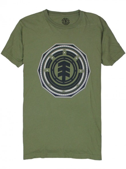 Playera Element Focal Sage