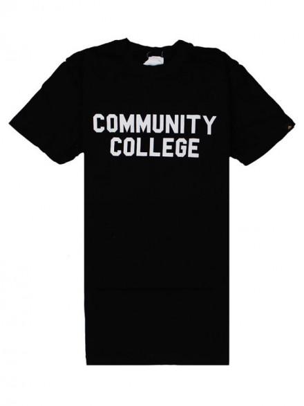 Playera Emerica Community College Black
