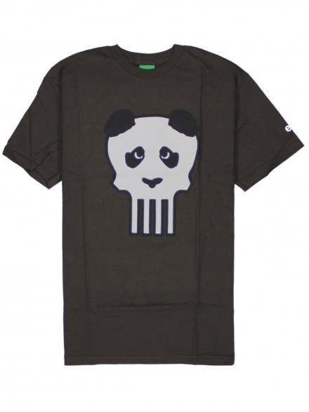 Playera Enjoi Clark Skull Dark Chocolate