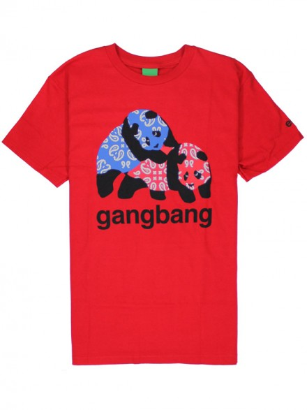 Playera Enjoi Gangbang S/S Red