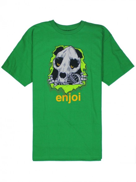 Playera Enjoi Panda Ripper Grn