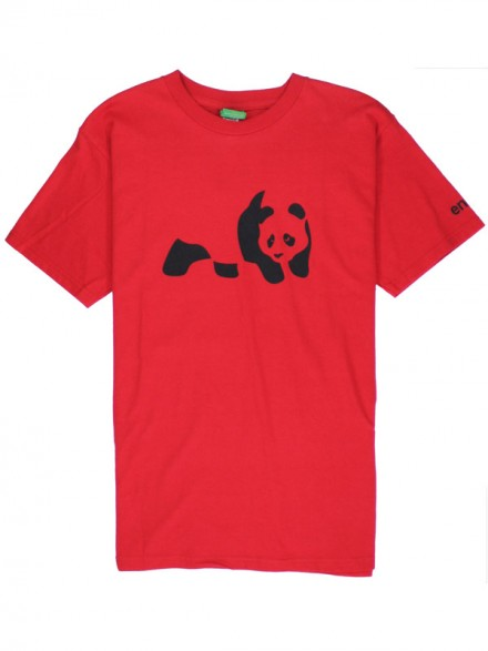 Playera Enjoi Panda S/S Red