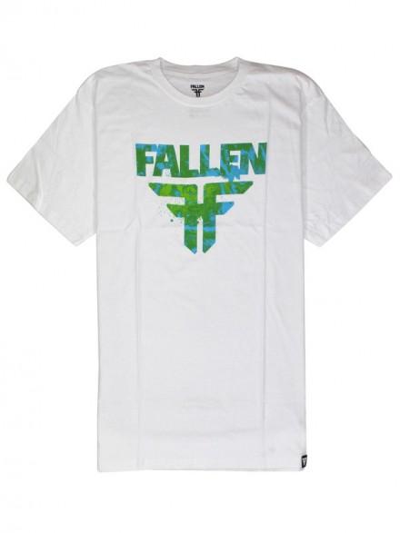 Playera Fallen Acetone S/S Wht