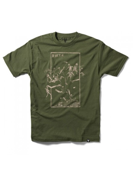Playera Fallen Probation S/S Army Natural
