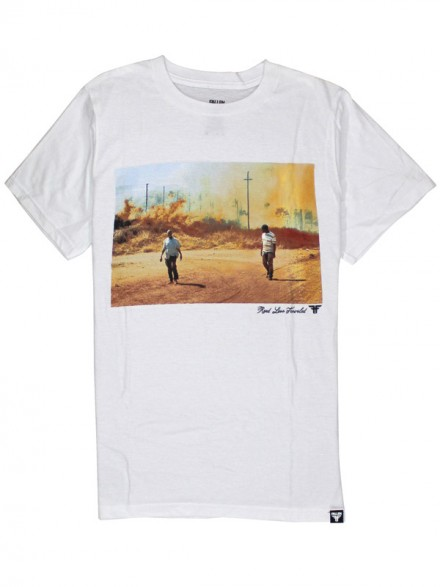 Playera Fallen Road Less Traveled Africa S/S Wht S