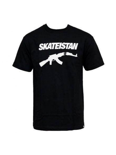 Playera Fallen Skateistan S/S Black/White Md