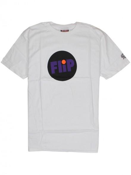 Playera Flip Year Dot White Sm