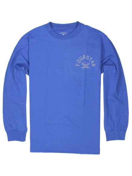 Playera Fourstar Arch L/S Royal