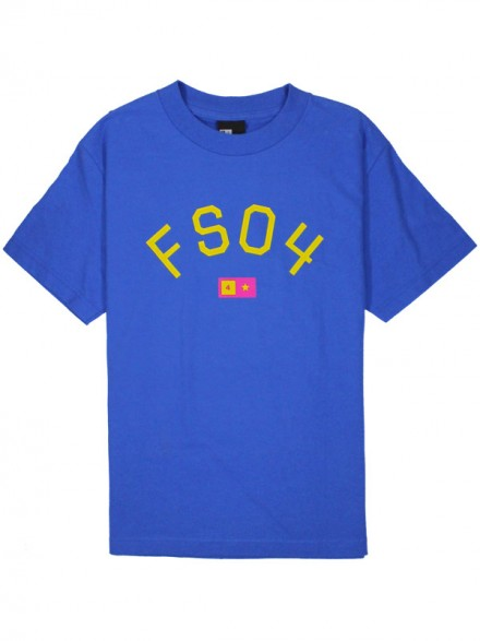 Playera Fourstar Classics-Fs04 Arch/Royal Small