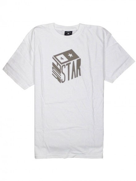 Playera Fourstar Cube White M