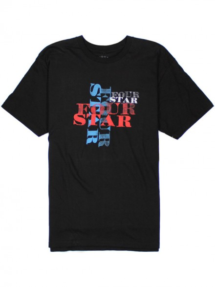 Playera Fourstar Imprint Premium Black M