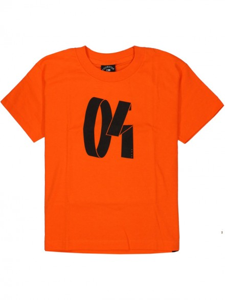 Playera Fourstar Modern Youth Orange S