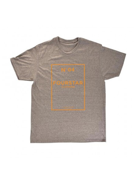 Playera Fourstar Nº 04 Tri-Blend Athl Grey S