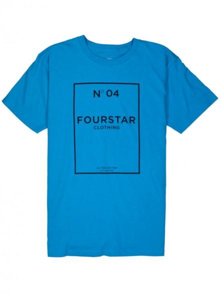 Playera Fourstar No. 04 Turquoise