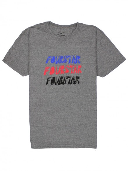 Playera Fourstar Pavement Gry