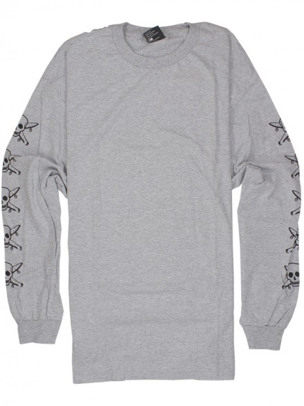 Playera Fourstar Pirate Chain L/S Grey